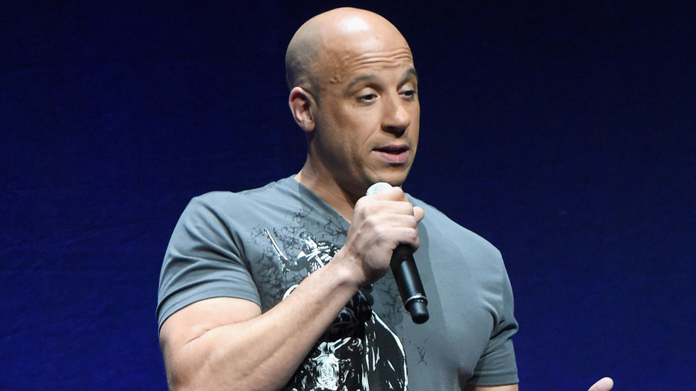 Fast and Furious actor Vin Diesel
