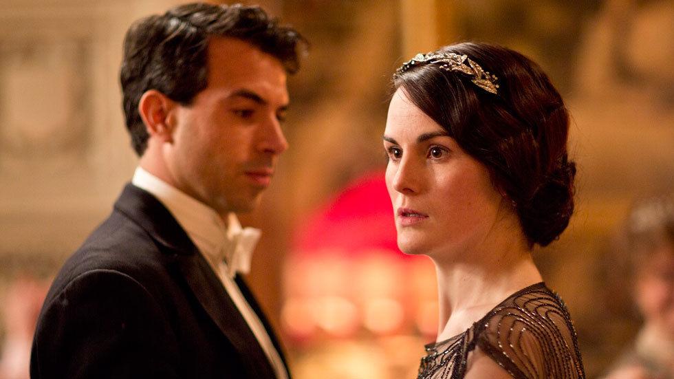 Mary in Downton Abbey Season 4 on BBC Entertainment.
