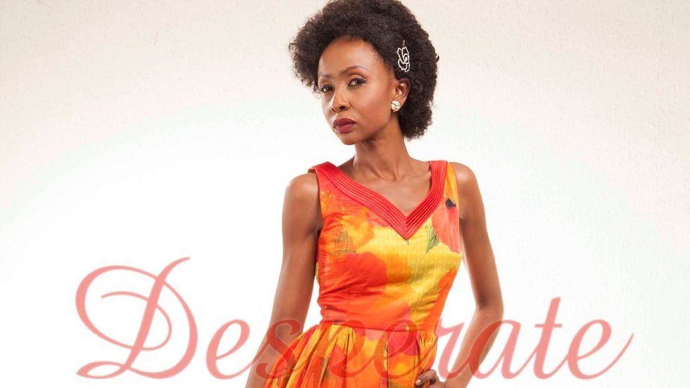 Nini Wacera as Ese De Souza in Desperate Housewives Africa.