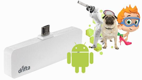 drifta android mini | self service - Mobile Tv Dstv