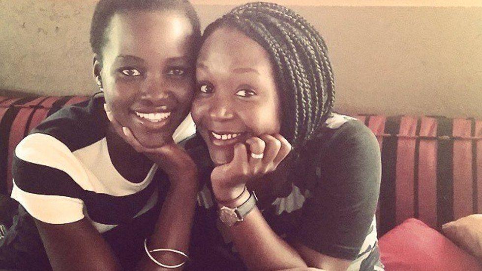 Lupita Nyong'o and Anne Kansiime