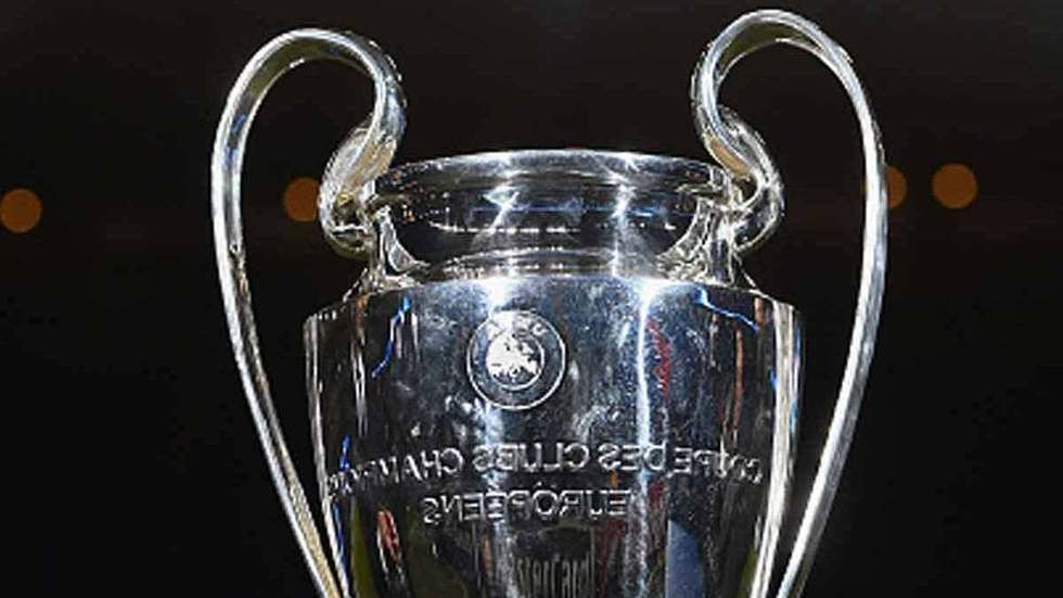 UEFA Cup - Champions League trophy