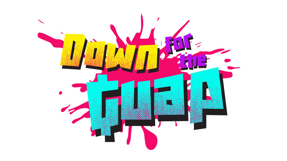 Vuzu Amp's new show Down for The Guap logo