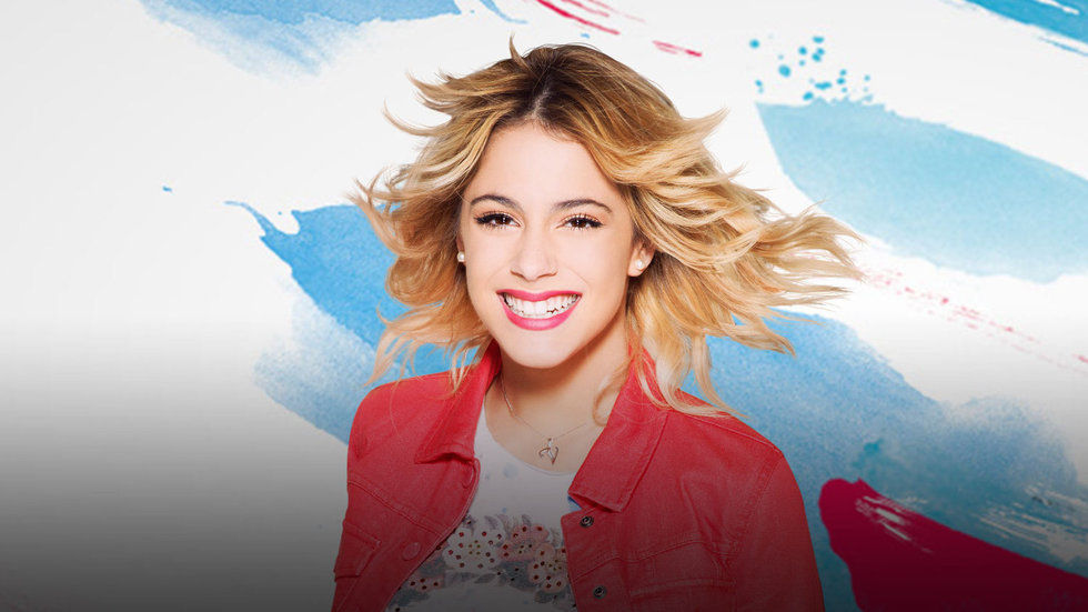 Violetta supporting Violetta talent search.