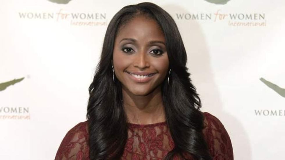CNN anchor Isha Sesay