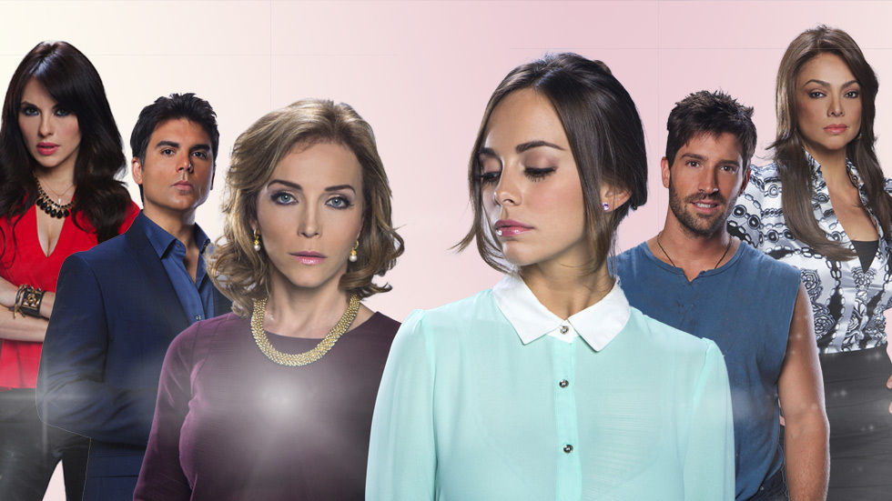 An image of the cast of Telemundo's Part of Me telenovela.