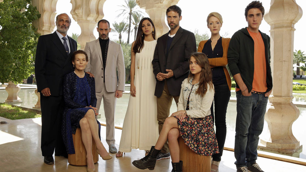 The cast of Tyrant.