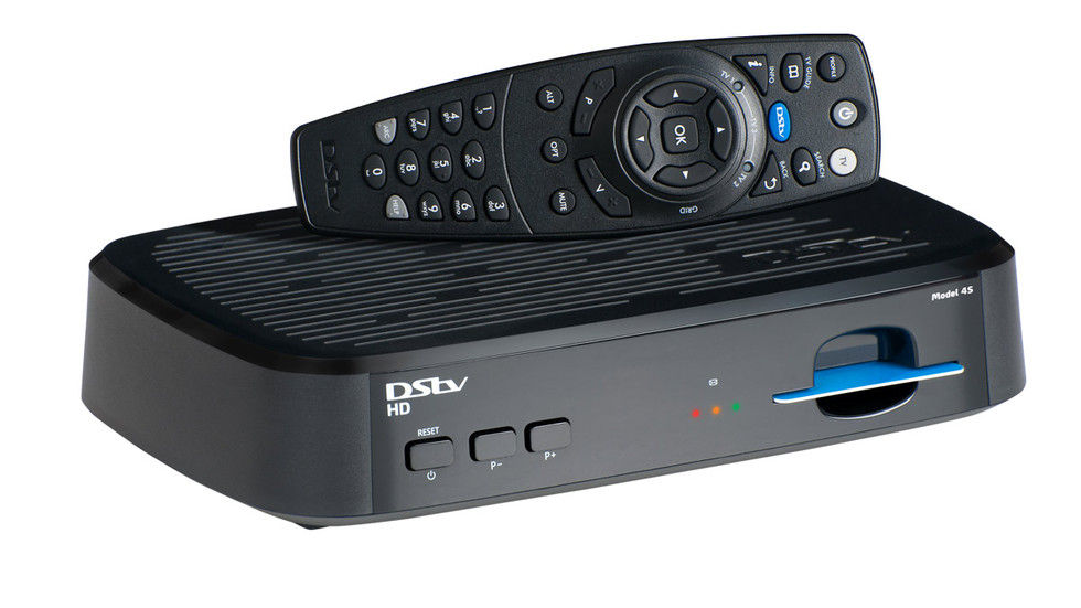 The HD Single view decoder with remote on top