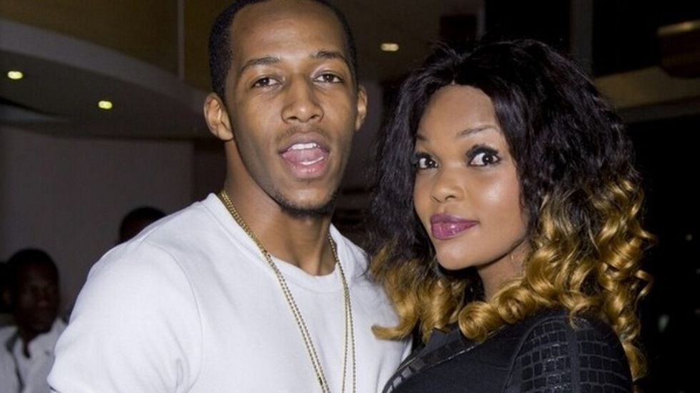 BBA 2014 winner Idriss and Wema Sepetu