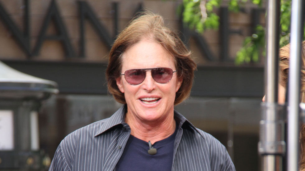 Bruce Jenner photographed by Getty images.
