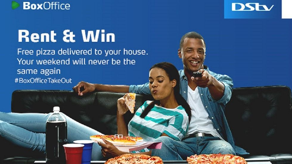 DStv rent tweent and win BoxOffice takeout promotion