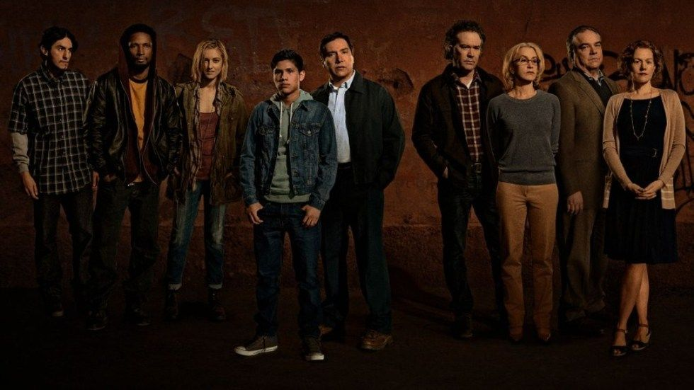 The cast of American Crime S1