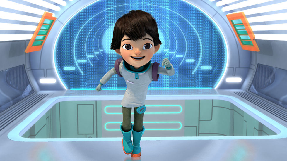 An image of Miles Callisto from Miles From Tomorrowland