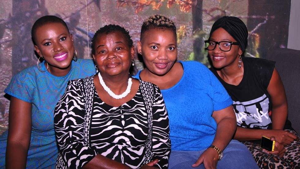 Ladies enjoying a day at the spa organised by MultiChoice Botswana
