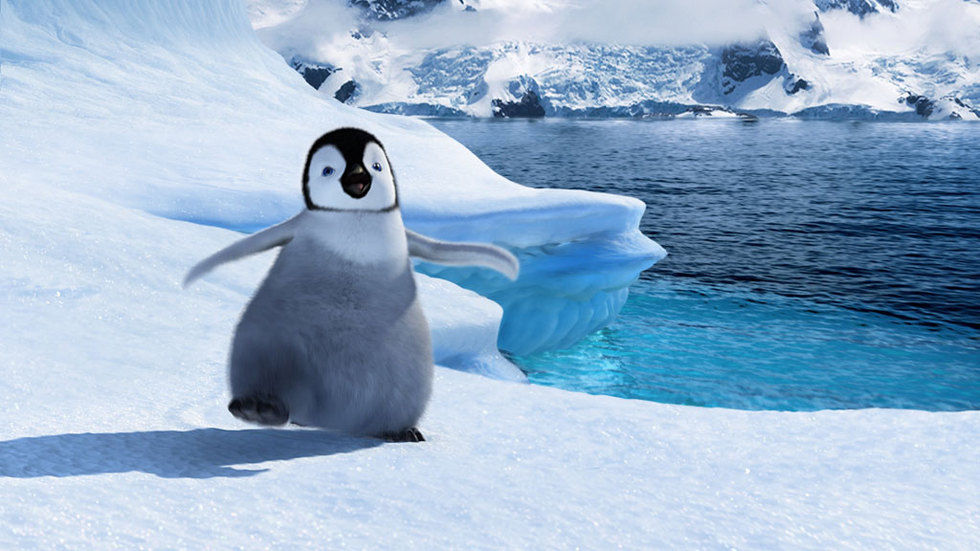 Happy Feet scene