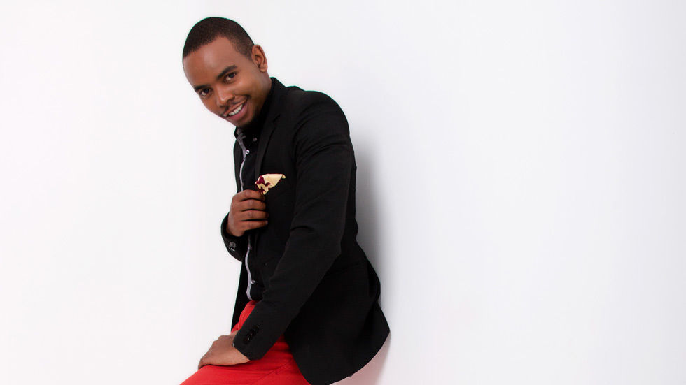 An image of host Malonza Chege for Tujuane.
