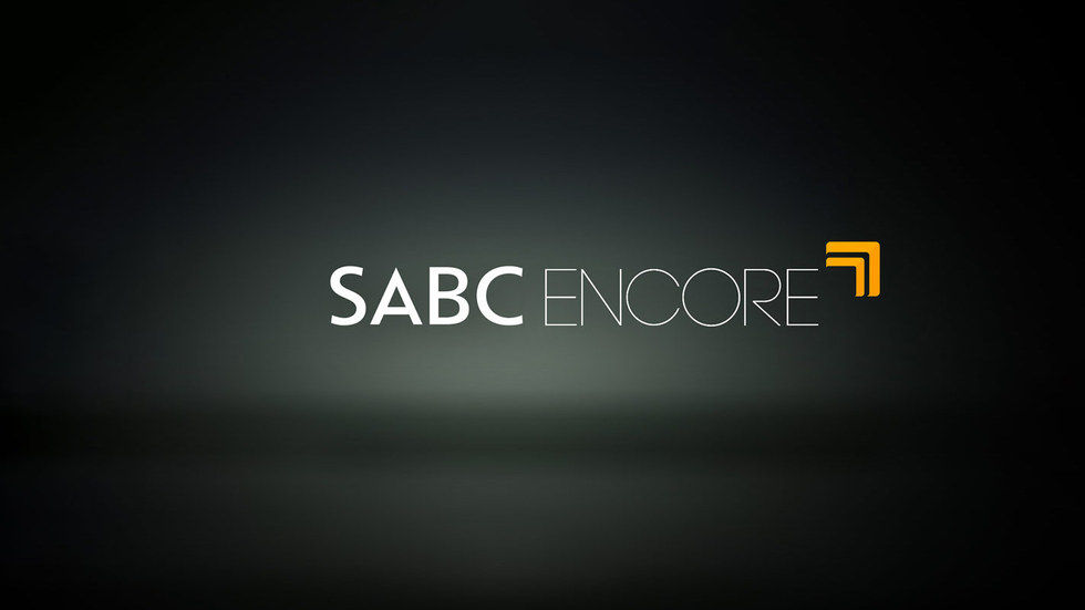 A logo on SABC Encore