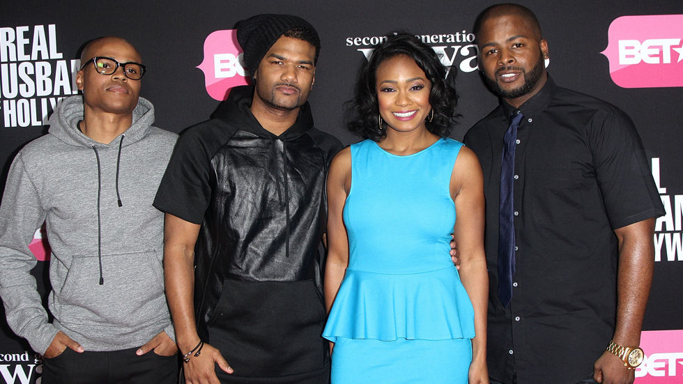 An image of the cast of Second Generation Wayans: Damien, Craig, George Gore II and Tatyana Ali.