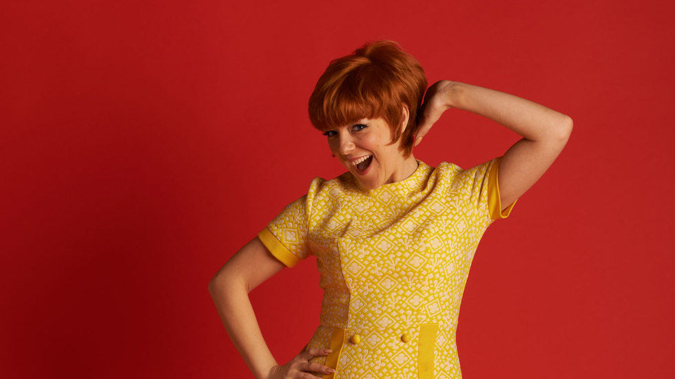 A picture of Sheridan Smith as Cilla Black.