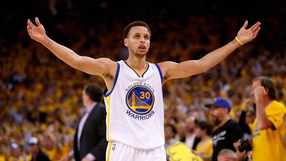Stephen Curry of the Golden State Warriors.