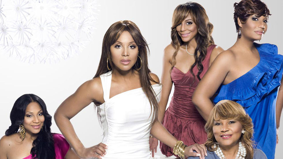 Following the Grammy-winning artist Toni Braxton, Traci, Towanda, Trina and Tamar Braxton.