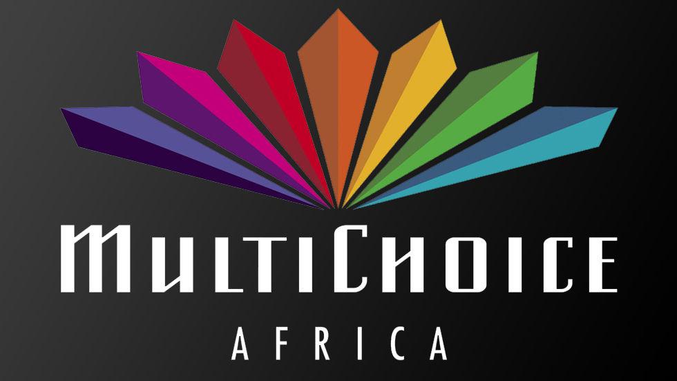 MultiChoice Africa logo on a dark background.