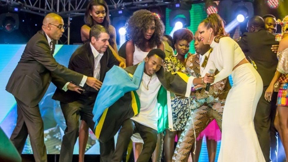 Mshindi wa Airtel Trace Music competition Mayunga