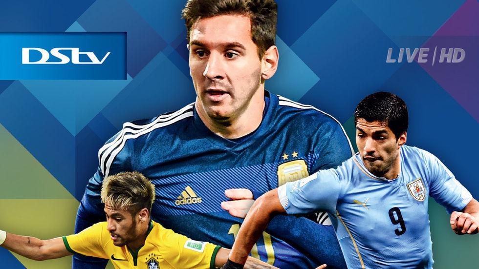 Poster of Neymar, Messi and Suarez