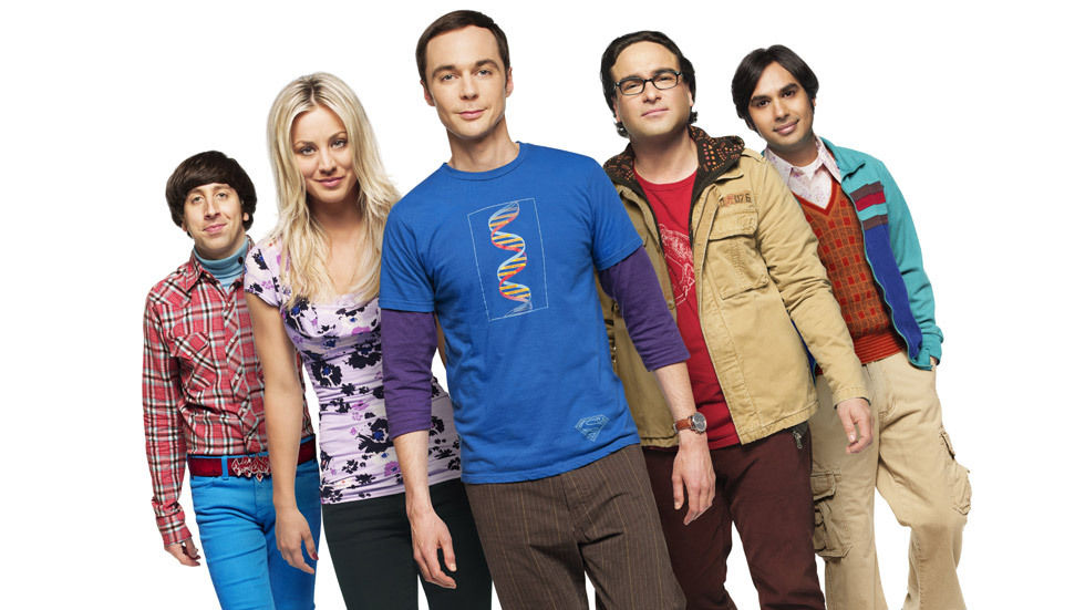 The Big Bang Theory's Johnny Galecki, Jim Parsons, Kaley Cuoco-Sweeting, Simon Helberg and Kunal Nayyar.