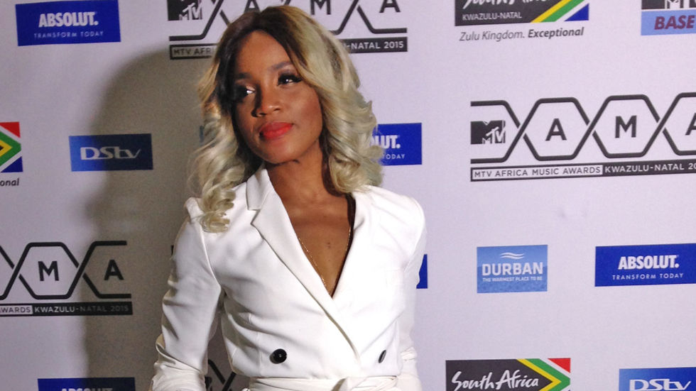 An image of Seyi Shay who is nominated for Best Female at the 2015 MTV Africa Music Awards.