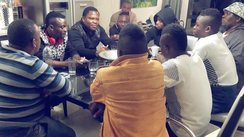 Yamoto band wakiwasiliana na Diamond Platnumz Afrika Kusini