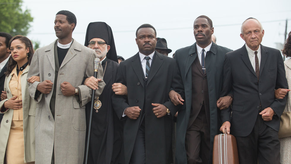 A still image from Selma.