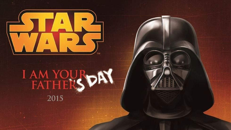 I am Your Father('s Day) Star Wars image.