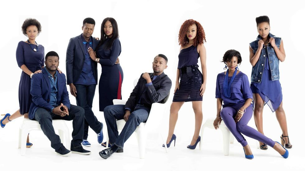 The cast of the new Mzansi Magic series, It's Complicated.