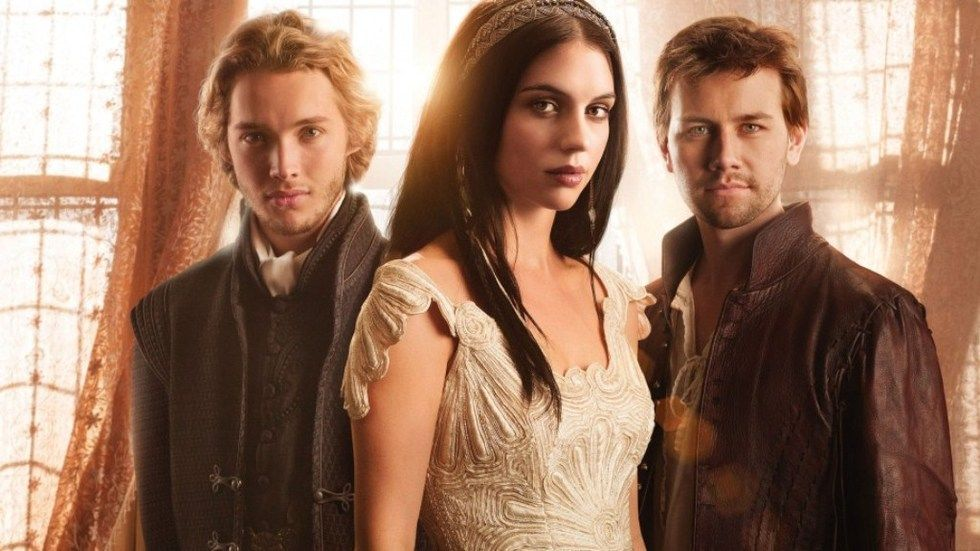 Adelaide Kane, Toby Regbo and Torrance Coombs from the cast of Reign.
