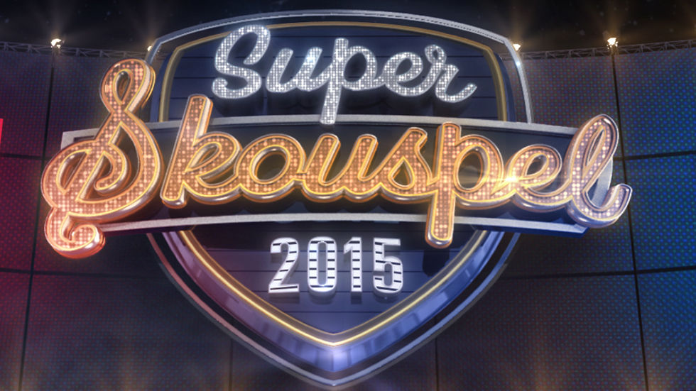 Logo for SuperSkouspel presented by kykNET and Huis Genoot.