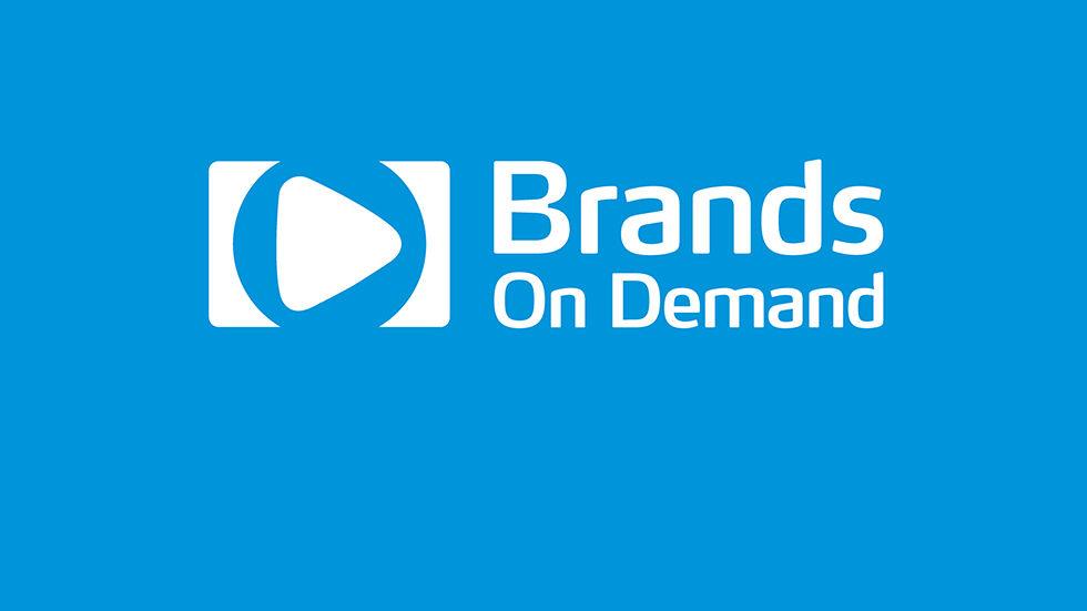Brands on Demand Logo on Blue