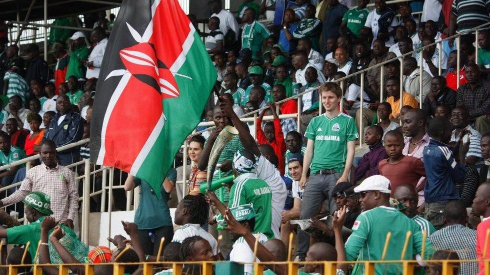 Fans of Gor Mahia during a past match