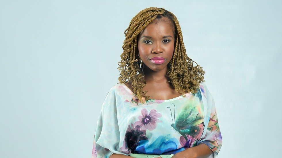 Ayanda Mpama is the new host of Our Perfect Wedding on Mzansi Magic.