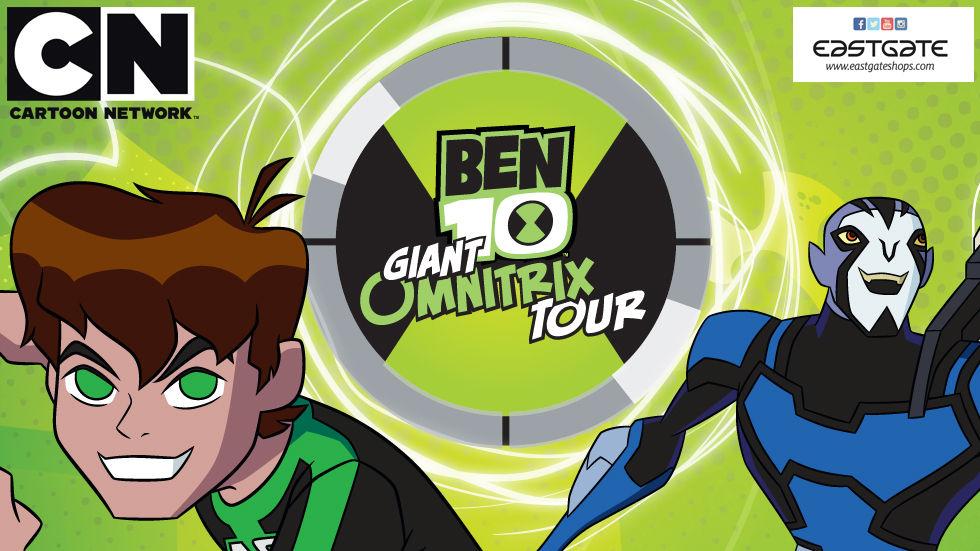 Ben 10 Giant Omnitrix Tour.