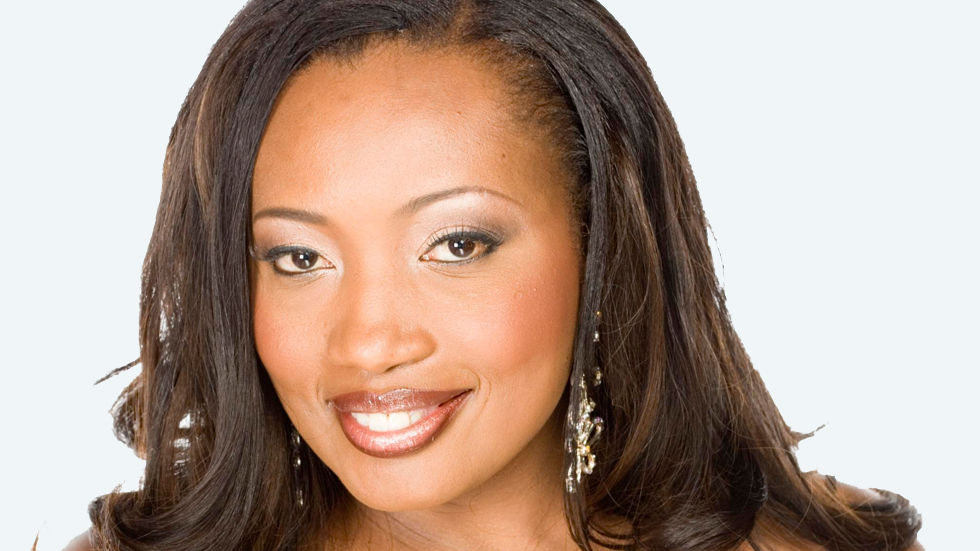 Sophie Ndaba as the lead actress in the soapie Generations on the DStv channel Zambezi Magic.