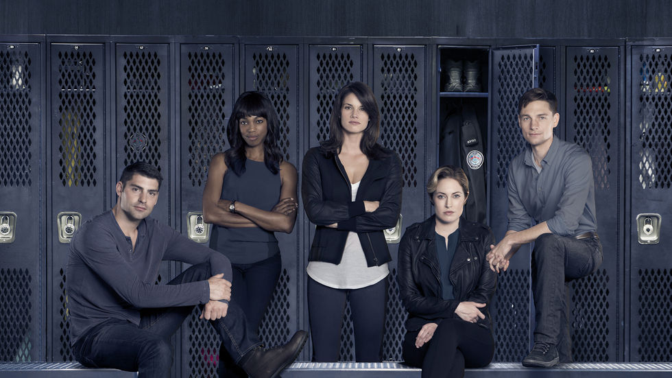 An image of the cast of Rookie Blue Season 6.