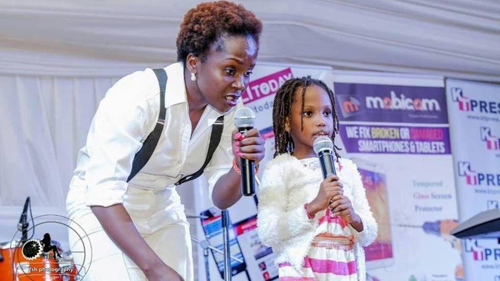Ugandan comedienne Anne Kansiime.