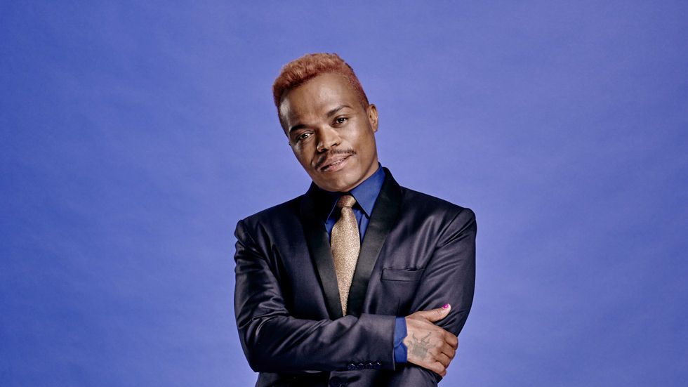Somizi Mhlongo is the new judge on Idols SA.