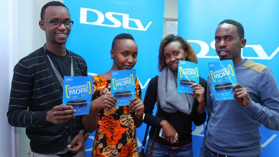 Guests at the BoxOffice movie night of The Interview at PAWA254
