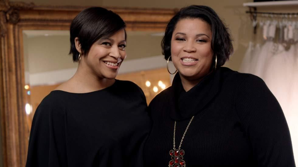 Yuneisia Harris and Yukia Walker, the hosts of the TLC Entertainment show Curvy Brides