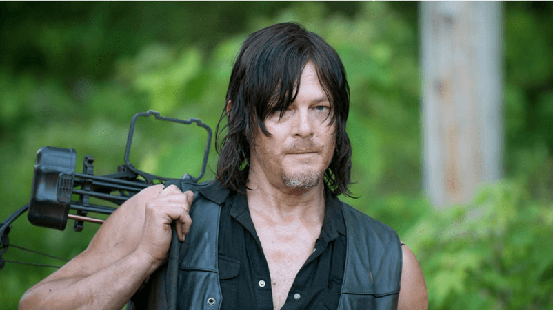 Norman Reedus as Daryl in the Fox series The Walking Dead.