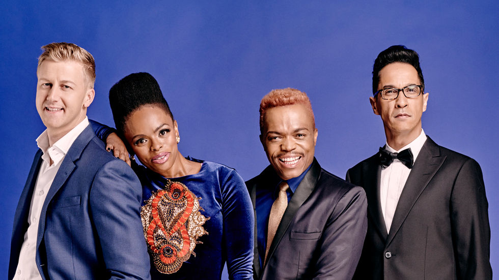 Gareth, Unath, Somizi and Randall as judges for Idols SA 2015 on M-Net and Mzansi Magic