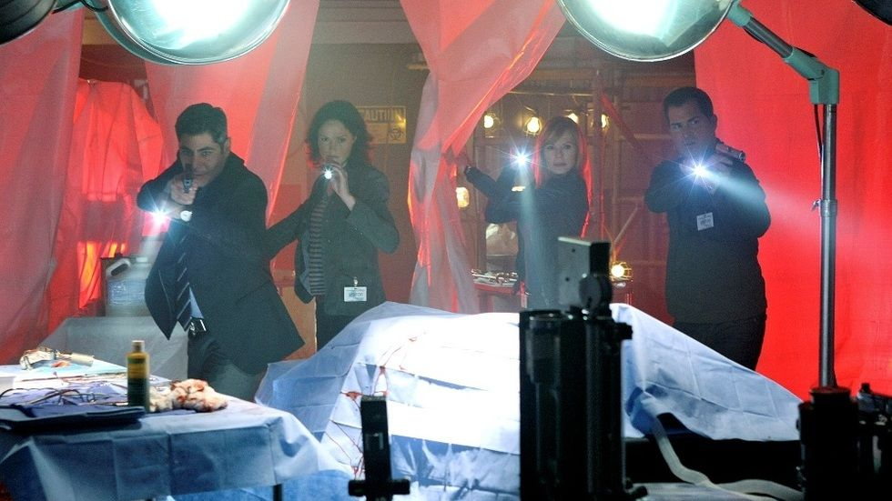 An image from the series CSI.