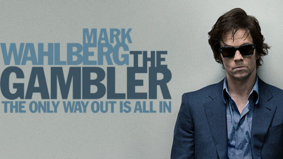 Mark Walberg in the poster of The Gambler
